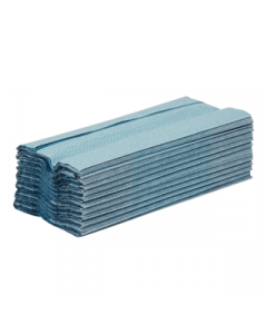 Blue C Fold 1Ply Hand Towels - 2880 Sheets