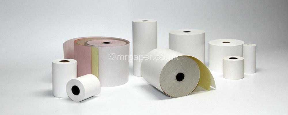 Till Rolls, Thermal Paper, PDQ Rolls, Credit Card Rolls, Cash